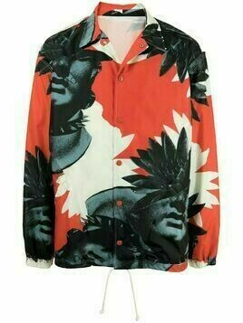 UNDERCOVER photograph-print jacket - Red