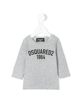 Dsquared2 Kids 1964 logo T-shirt - Grey