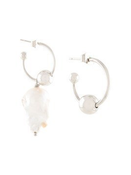 Justine Clenquet Ellen earrings - SILVER