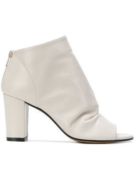 Marc Ellis open toe boots - Nude & Neutrals
