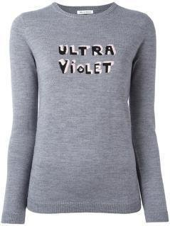 Bella Freud Ultra Violet Jumper