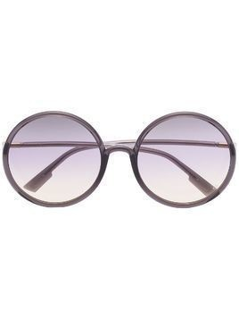 Dior Eyewear round gradient sunglasses - Black