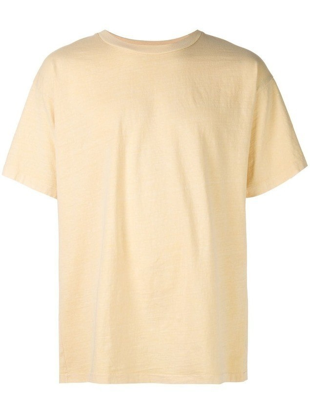 John Elliott University T-shirt - Yellow