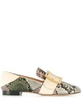 Bally patchwork loafers - Grey