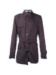 Vivienne Westwood Vintage belted trench coat - Red