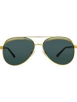 Nº21 aviator sunglasses - Black