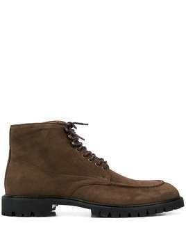 Hackett lace up ankle boots - Brown