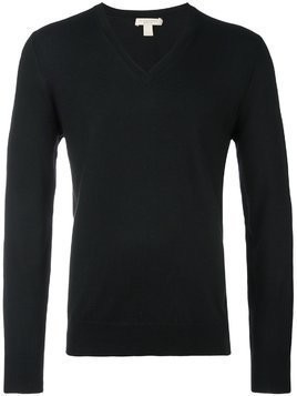 Burberry elbow pad detail jumper - Black