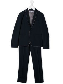 Dondup Kids slim two-piece suit - Blue