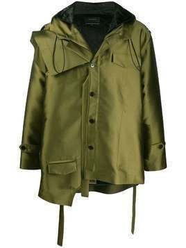 Botter deconstructed hooded jacket - Green