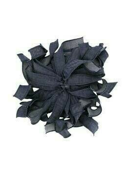 Piccola Ludo denim floral brooch - Blue