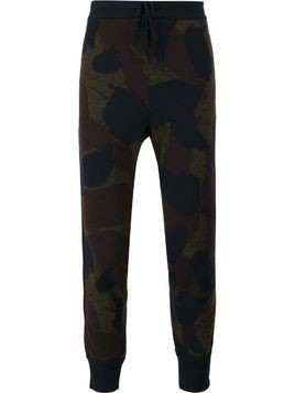 Oamc camouflage trackpants - Green
