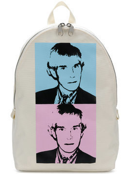 Calvin Klein Jeans Warhol Portrait Campus backpack - White