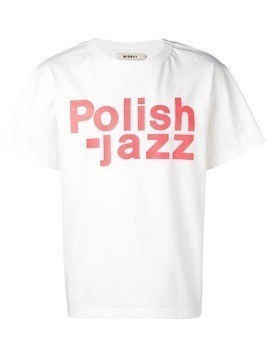 Misbhv Polish-jazz T-shirt - White