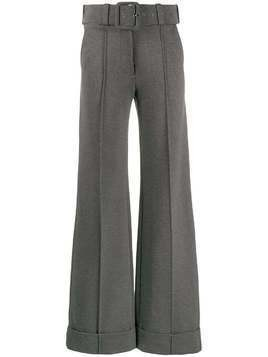 Victoria Victoria Beckham high-waisted wide-leg trousers - Grey
