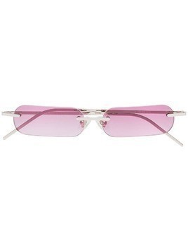 Blyszak silver and pink Francois Russo sunglasses