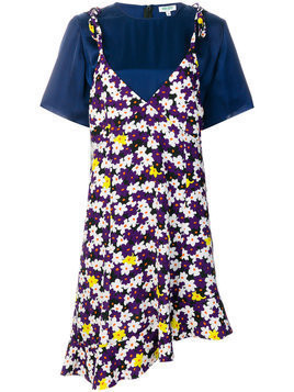 Kenzo - 2 in 1 Jackie Flowers dress - Damen - Polyester/Spandex/Elastane/Cupro - 34 - Multicolour