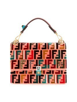 Fendi Kan I shoulder bag - Pink&Purple