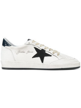 Golden Goose Deluxe Brand - Ball Star sneakers - Herren - Cotton/Calf Leather/Leather/rubber - 46 - White