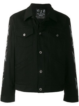 Mjb painted jacket - Black