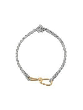 Annelise Michelson wire cord bracelet - Grey
