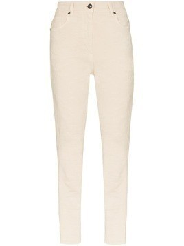 Etro cropped skinny jeans - NEUTRALS