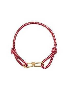 Annelise Michelson wire cord small bracelet - Red