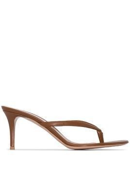 Gianvito Rossi Calypso flip-flop sandals - Brown
