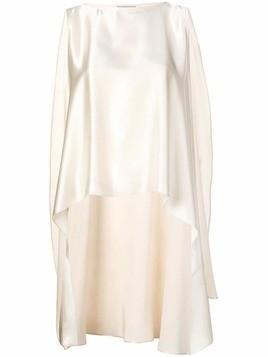 Dusan asymmetric blouse - White