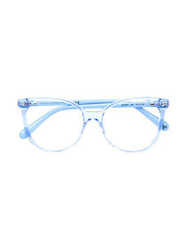 Stella Mccartney Kids cat-eye frame glasses - Blue