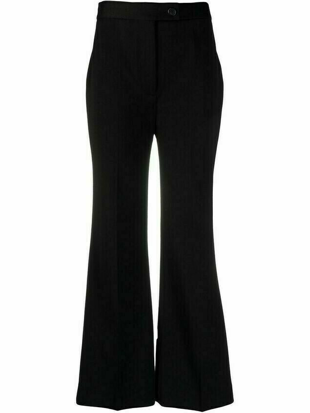 Victoria Victoria Beckham high-rise flared trousers - Black