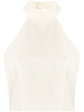Alice McCall Little Journey halterneck top - White
