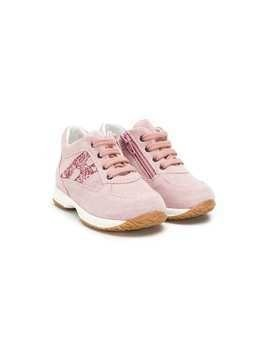 Hogan Kids Interactive sneakers - Pink