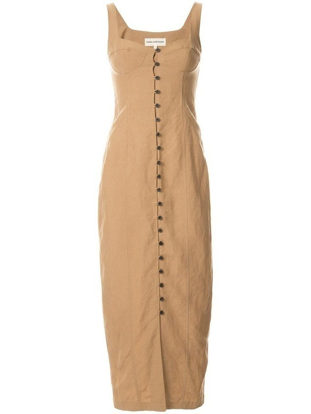 Mara Hoffman Angelica Dress - NEUTRALS