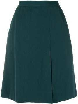 Yves Saint Laurent Pre-Owned A-line short skirt - Green