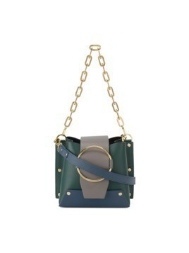 Yuzefi Green Delila small bucket bag