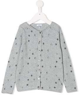 Knot Moons knitted cardigan - Grey