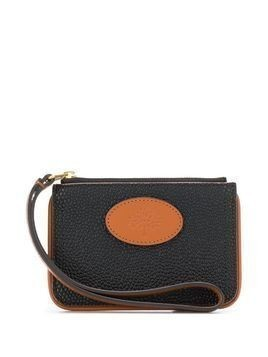 Acne Studios x Mulberry zip coin scotchgrain pouch - Black