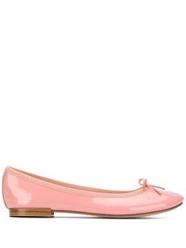 Repetto Cendrillon patent ballerina pumps - PINK