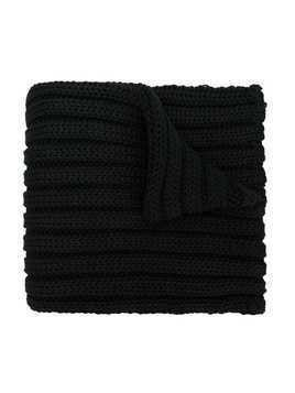Catya Kids chunky ribbed knit scarf - Black