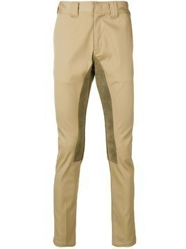 Facetasm x Dickies slim-fit trousers - Brown