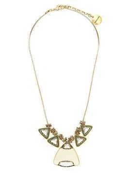 Camila Klein multiple triangle necklace - Gold