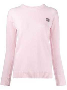 Loewe long sleeved knit top - Pink