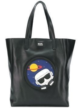 Karl Lagerfeld K/Space soft shopper - Black