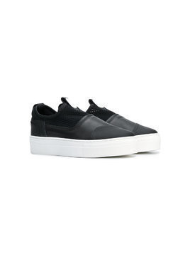 Bruno Bordese Next Generation TEEN slip-on sneakers - Black