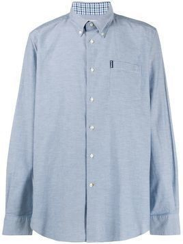 Barbour Oxford long sleeve shirt - Blue