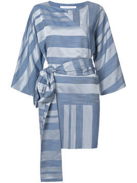Kimora Lee Simmons tie waist dress - Blue