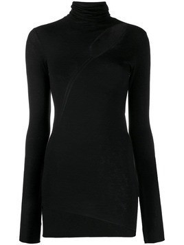 8pm Mercurio cut-out fitted sweater - Black