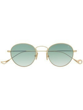 Eyepetizer round tinted sunglasses - Gold