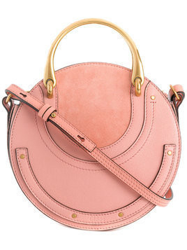 Chloé Small Pixie shoulder bag - Pink & Purple